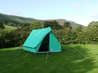 Giant Pearl Tent | Canvas Ridge Tent | Scout Tent
